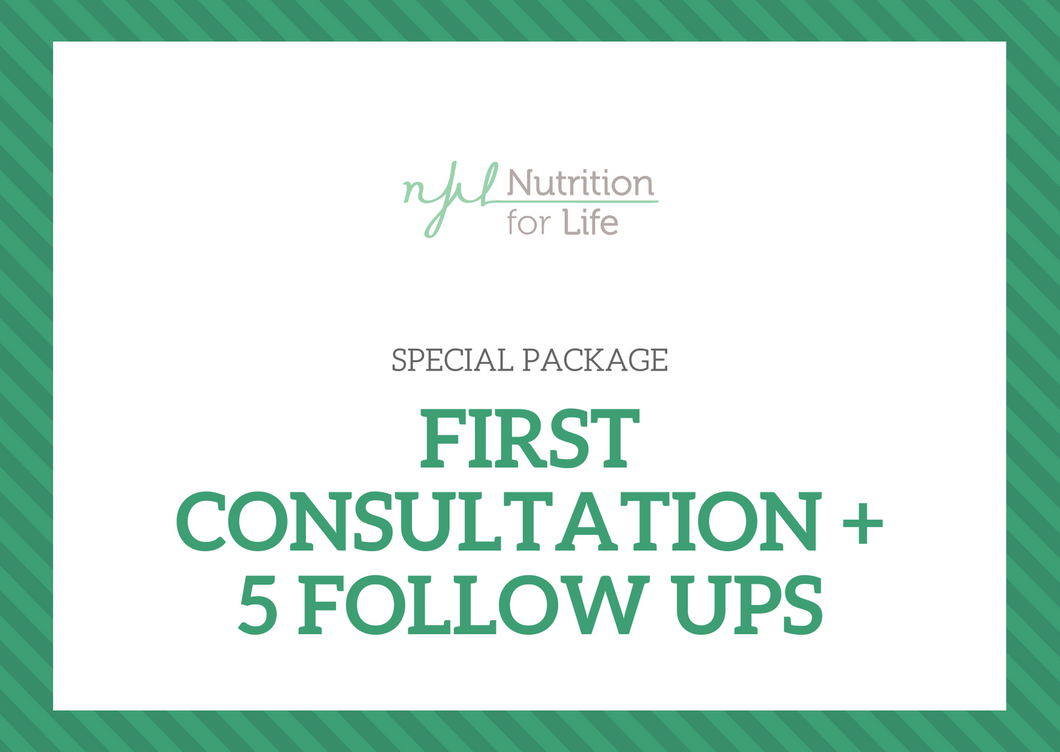 Special Package: First Consultation & 5 Follow ups