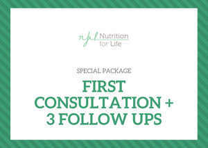 Special Package: First Consultation & 3 Follow ups