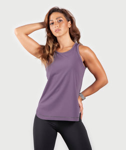 Women AVI Tank - Plum Purple