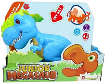 Load image into Gallery viewer, JUNIOR MEGASAUR T REX BLUE