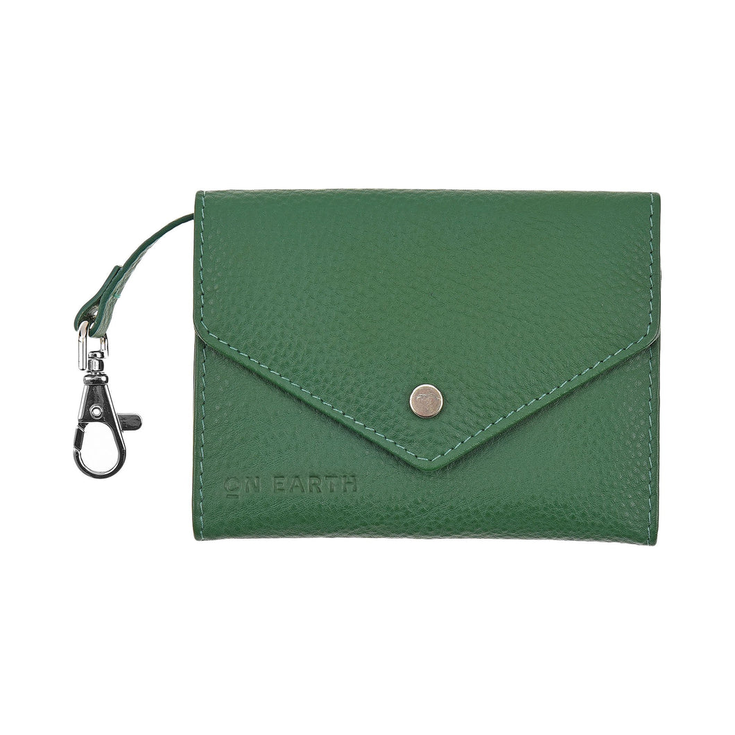 BORSELLINO ENVELOPE IN NAPPA VERDE | COD. 30009935