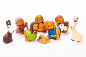PRESEPE INCLINATO IN TERRACOTTA | COD. 40003913