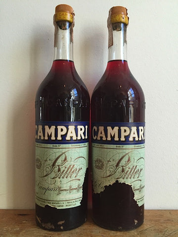 Campari, 1960s, 100cl, 100 pounds each