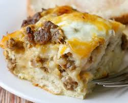 Sausage, Egg and Cheese Casserole