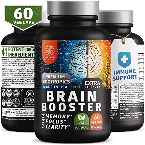 Brain Supplement Nootropics Booster