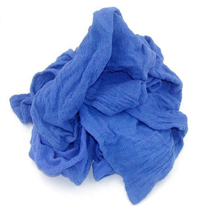 Recycled Blue Surgical Towels (Sold per 7 Pound Box)