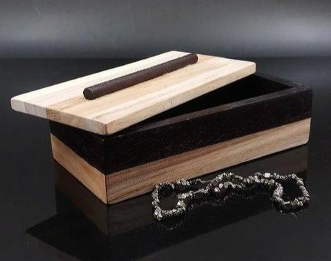 柚木盒子 Teak wood box - lifebuyhk