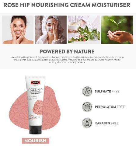 有機玫瑰果油滋潤保濕霜【新版】 (125ml) (Rose Hip Nourishing Cream Moisturiser)