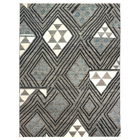 "Kuba Collection Area Rug - 10'2"" x 13'6"