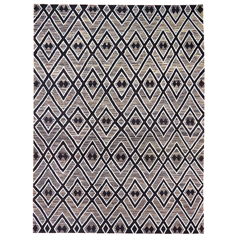 "Kuba Collection Area Rug - 8'10"" x 11' 10"