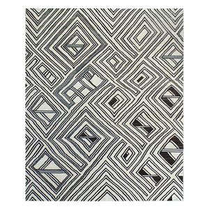 "Kuba Collection Area Rug - 9'11"" x 13'5"""