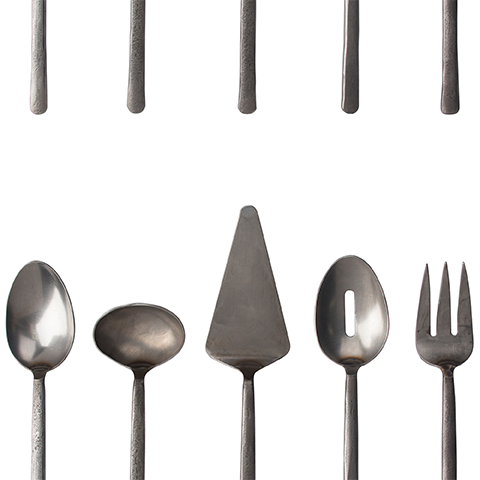 East Slate Stainless Service Set
