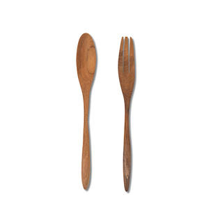 Traditional Salad Spoon & Fork