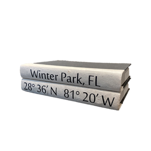 Winter Park Coordinates Book Set - White Cover