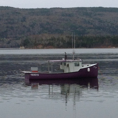 Fishing Boat, Cape Breton