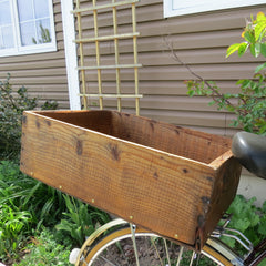 FreeLander Bicycles' Wooden Bicycle Crate