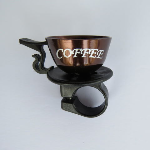 Bicycle Bell: Coffee Cup