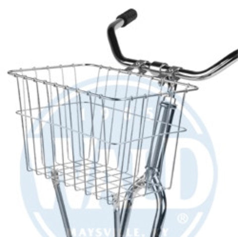 WALD #135 Front Basket in Chrome