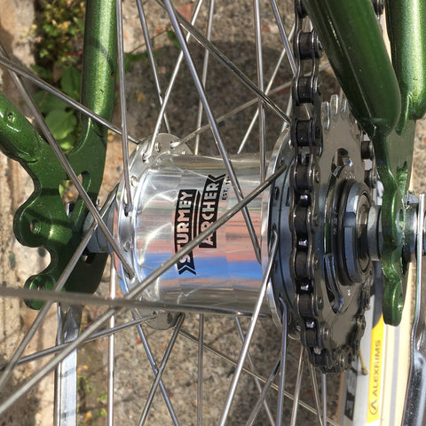 Sturmey-Archer AW 3-Speed Hub: PARTS