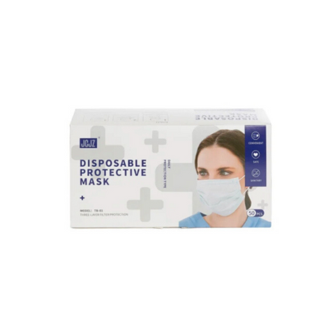 Level 2 - 3-Ply Disposable Face Mask - 50/box