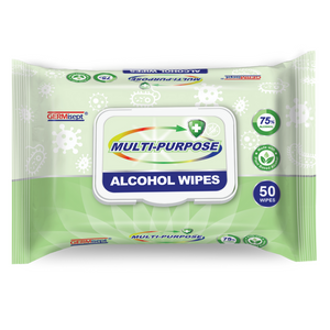 Disinfectant Wipes - 50ct Pack - 75% Alcohol