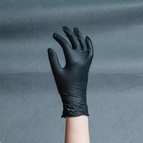 Nitrile Gloves  - 100/box - 50 pairs - Black