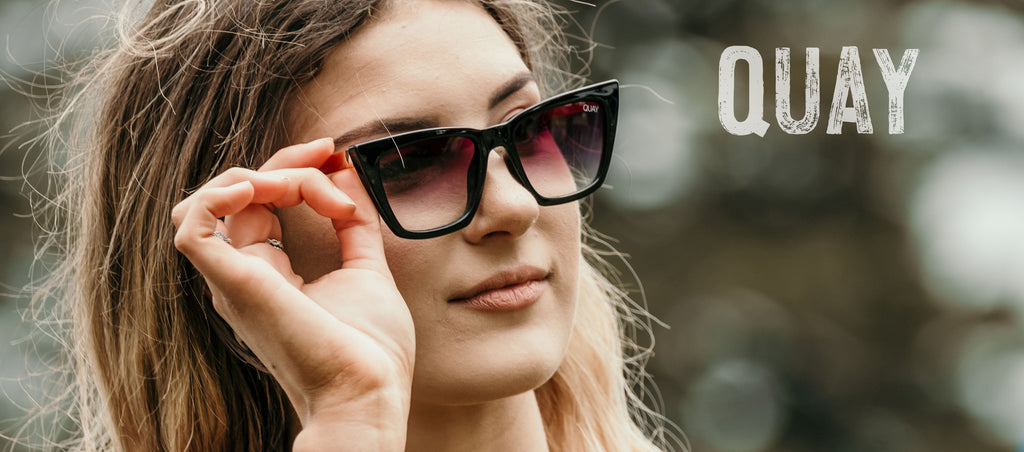TPPF Collection | Quay SUNGLASSES (text) | Retail, Fashion, Lifestyle, Surf @ The Passage Port Fairy - thepassageportfairy