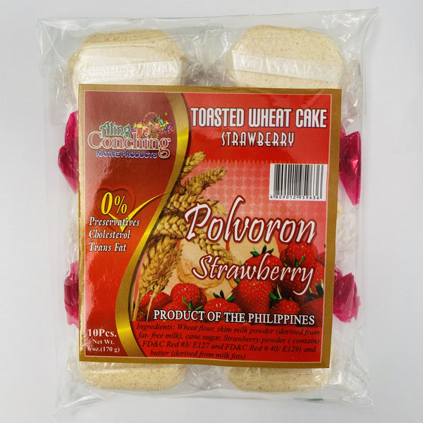 Aling Conching Polvoron - Strawberry 6oz
