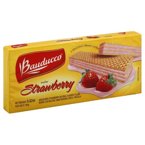 BAUDUCCO STRAWBERRY WAFER 5.82 OZ