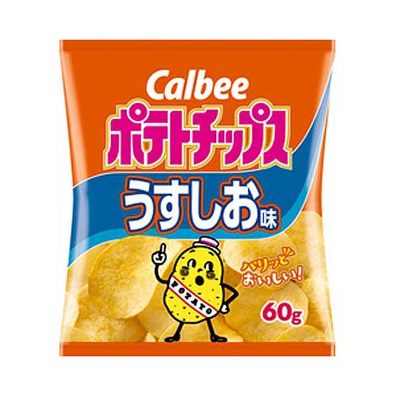 CALBEE POTATO CHIP LIGHTLY SALTED 4 OZ