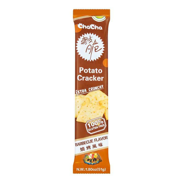 CHA CHA POTATO CRACKER BBQ 1.8 OZ