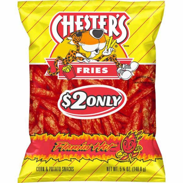 CHESTER HOT FRIES 148.8 G
