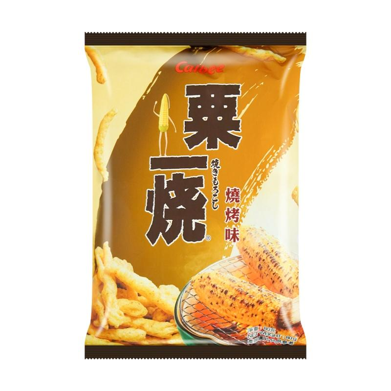 Calbee Grill A Corn BBQ Flavored Corn Chips 80g