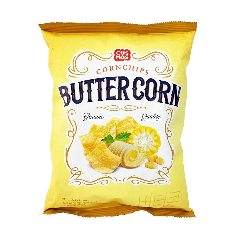Cosmos Butter Corn Cornchips 3.17oz