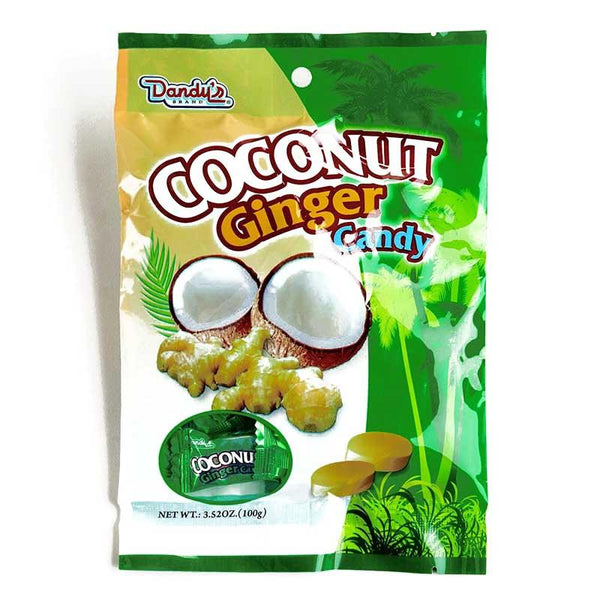DANDY'S GINGER COCO CANDY 3.52 OZ