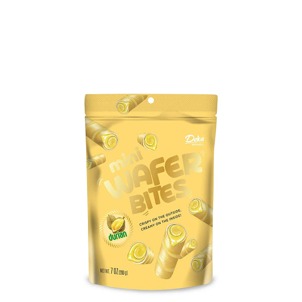 Deka Mini Wafer Bites Durian 7oz