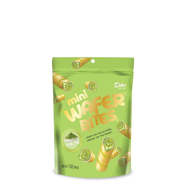 Deka Mini Wafer Bites Matcha 7oz