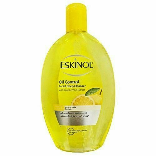 Eskinol Oil Control Facial Deep Cleanser, Lemon Extract 225ml