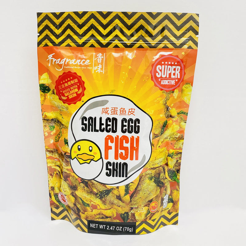 Fragrance Salted Egg Salmon Fish Skin 2.47oz