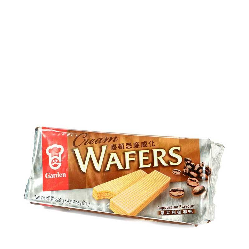 GARDEN CAPPUCCINO WAFERS 7 OZ