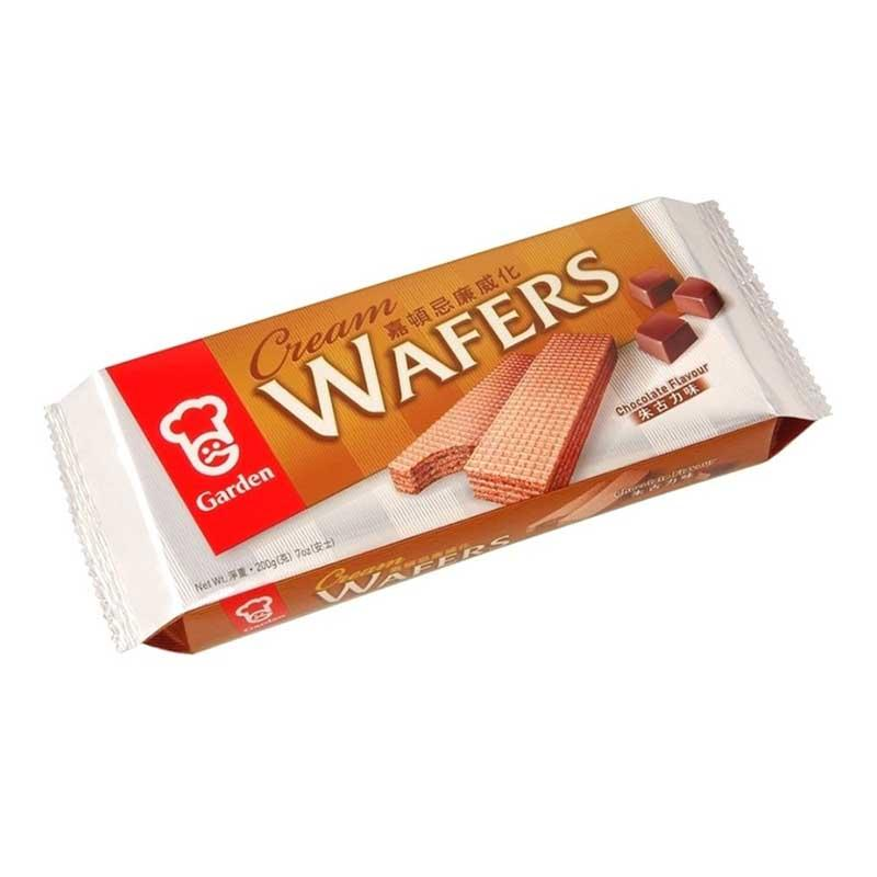 GARDEN CHOCOLATE WAFERS 7 OZ