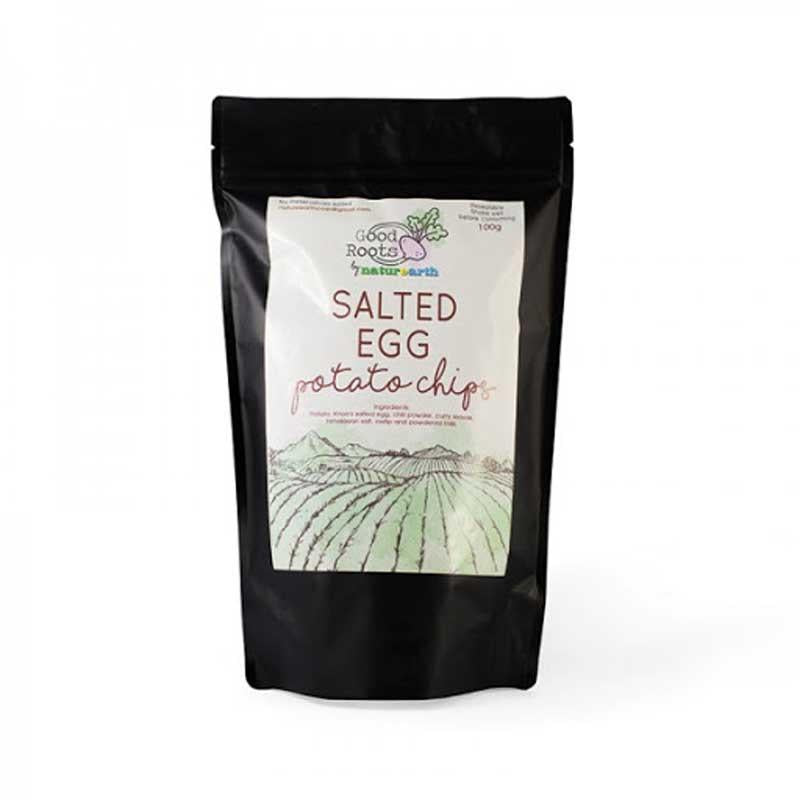 GOOD ROOTS SALTED EGG POTATO CHIPS 90 G