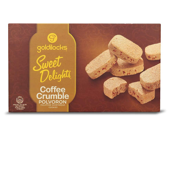 Goldilocks Sweet Delights Polvoron - Coffee Crumble 12pc