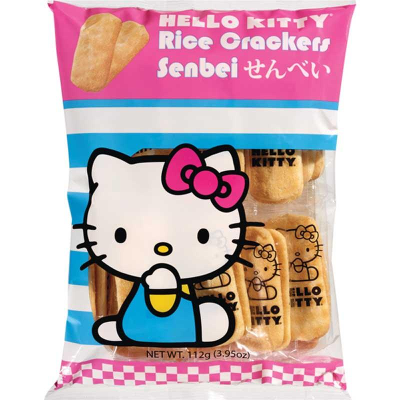 HELLO KITTY RICE CRACKERS 3.95 OZ