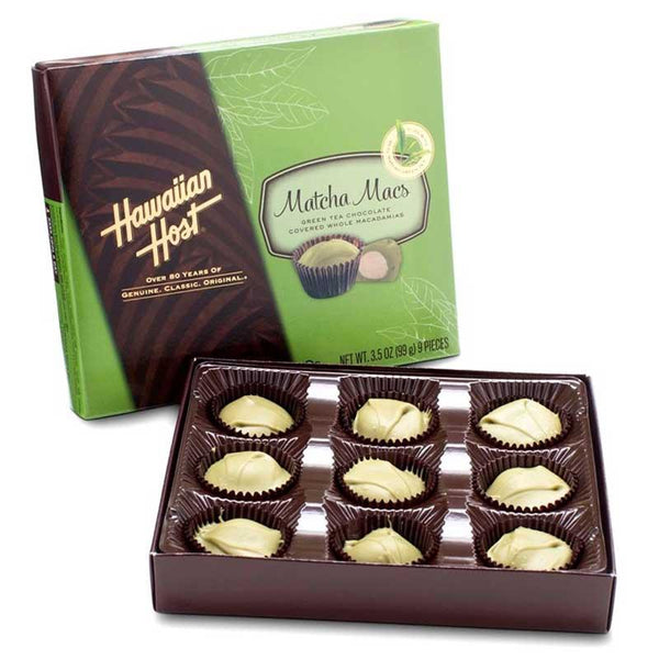 HAWAIIAN HOST MATCHA MACS 3.5 OZ