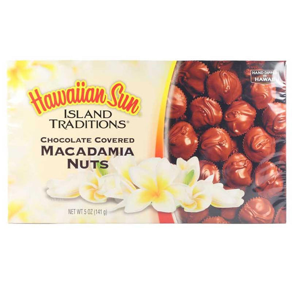 HAWAIIAN SUN CHOCOLATE COVERED MACADAMIA NUT 5 OZ