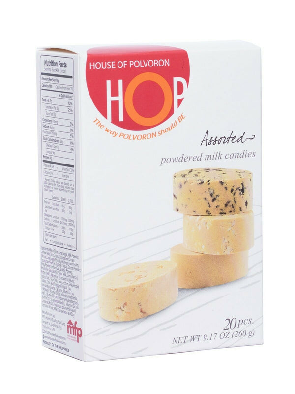 House of Polvoron - Assorted Flavors 20pc 9.17oz