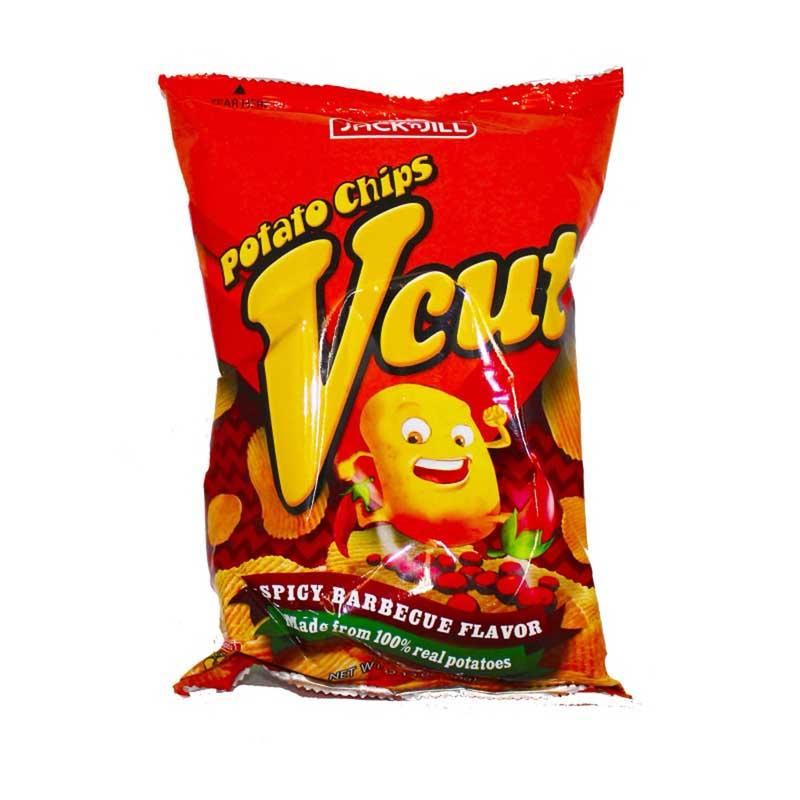 JACK & JILL VCUT POTATO CHIPS SPICY BBQ 60 G