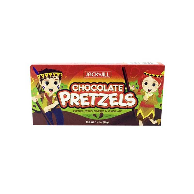 JACK & JILL PRETZELS CHOCO STICKS 1.41 OZ