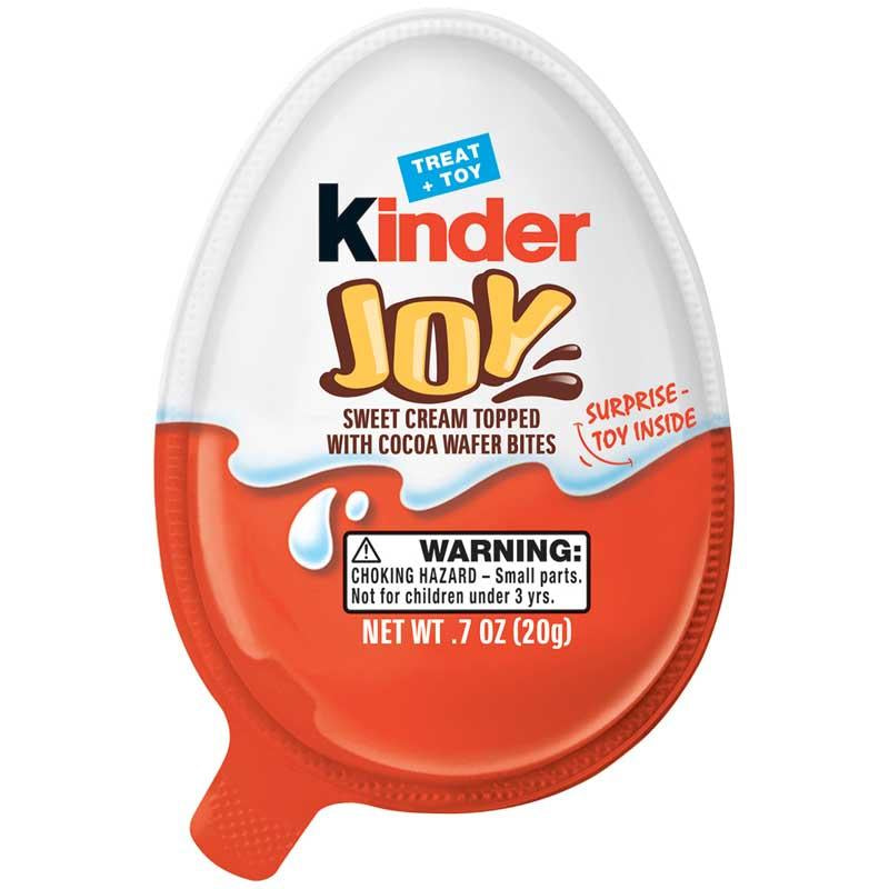 KINDER JOY TREAT & TOY 0.7 OZ